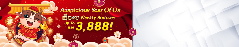 Weekly Bonuses Up To RM/SGD3,888